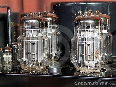 Lamps of amplifier