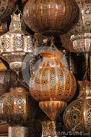 Free Lamps And Lanterns. Marrakesh . Morocco Stock Photos - 90790273