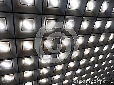 Lamps pattern
