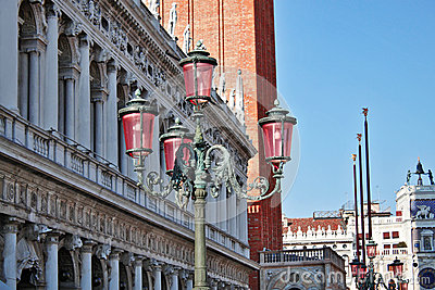 Lamps of Piazza San Marco