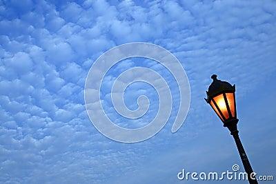 Lampstolpe