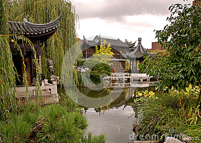 Lan Su gardens in Portland