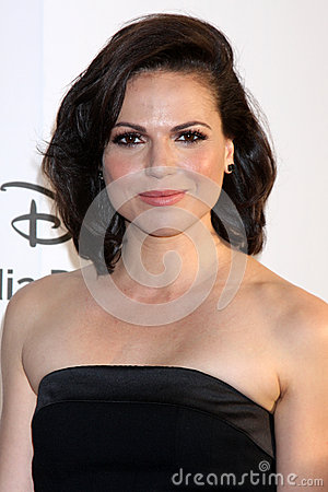 Lana Parrilla arrives at the ABC / Disney International Upfronts Editorial Photography