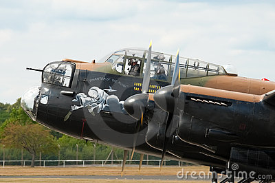 Lancaster bomber Editorial Stock Photo