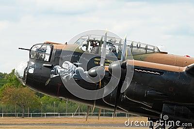 Lancaster bomber Editorial Stock Photo