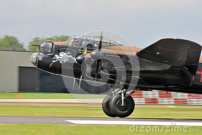 Lancaster Bomber Editorial Image