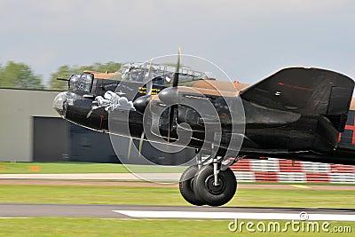 Lancaster Bomber Editorial Image
