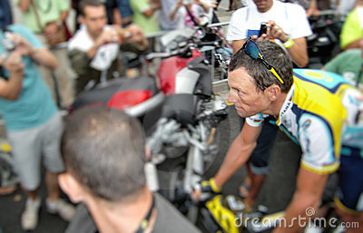 Lance Armstrong Redactionele Fotografie