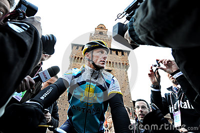 Lance Armstrong Editorial Image