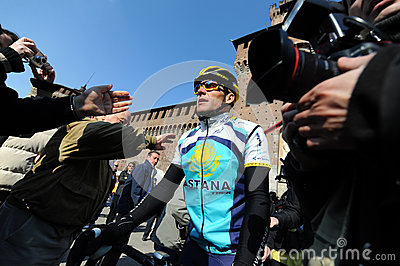 Lance Armstrong Editorial Stock Image