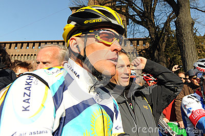 Lance Armstrong Editorial Photo