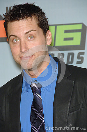 Lance Bass Editorial Stock Image