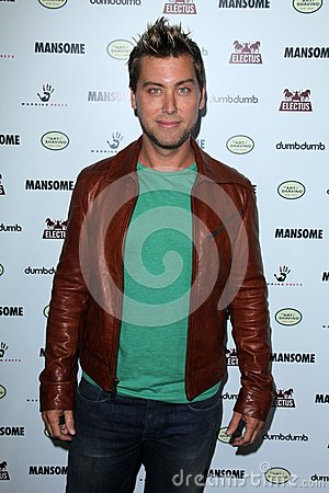 Lance Bass Editorial Photo