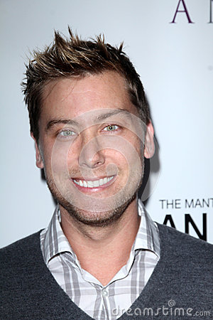 Lance Bass, Editorial Stock Image