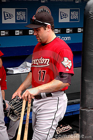 Lance Berkman Houston Astros Editorial Stock Photo