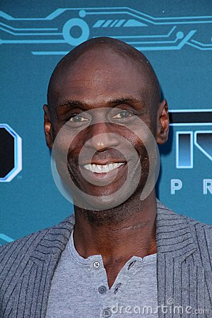 Lance Reddick at Disney XD s  Editorial Image