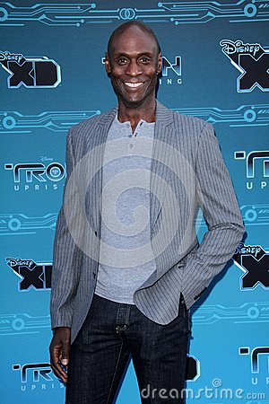 Lance Reddick at Disney XD s  Editorial Stock Photo