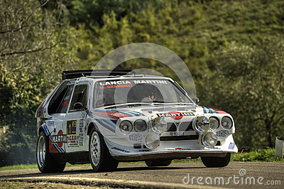 Lancia Delta S4 Martini Editorial Photo