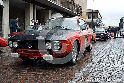 Lancia Fulvia HF Editorial Stock Image