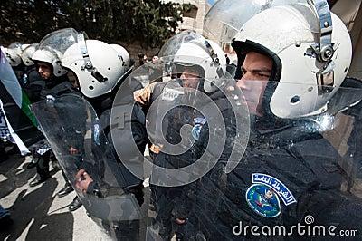 Land Day demonstration in Bethlehem Editorial Image
