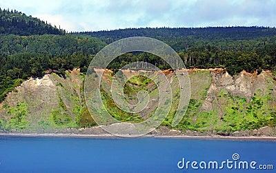 Land erosion