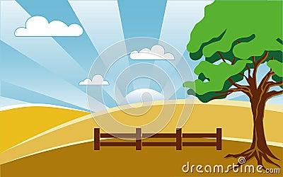 Land-Landschaft