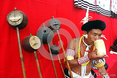 Land & People of Nagaland-India. Editorial Image