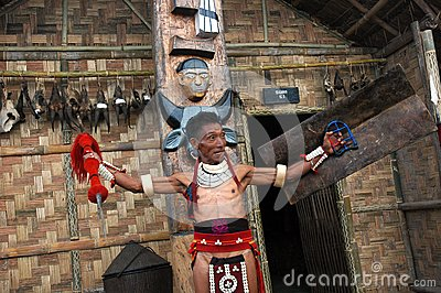 Land & People of Nagaland-India. Editorial Stock Photo