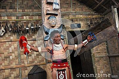 Land & People of Nagaland-India. Editorial Stock Photo