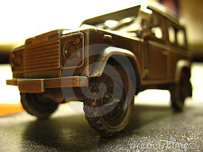 Land Rover Defender official miniature