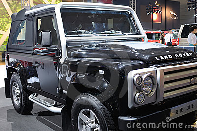 Land rover Defender suv Editorial Photography