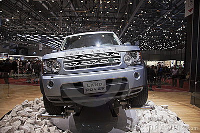 Land Rover Discovery 4 Editorial Image