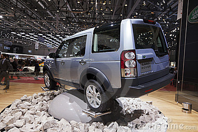 Land Rover Discovery 4 Editorial Photography