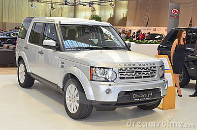 Land Rover Discovery 4 at SIAB 2011 Editorial Image