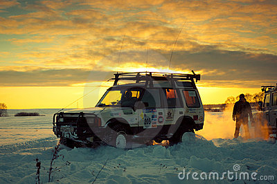 Land Rover Discovery I Editorial Stock Photo
