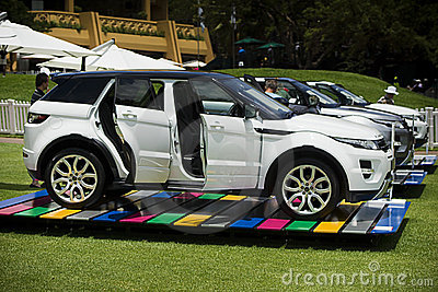 Land Rover - Range Rover Evoque Editorial Stock Photo