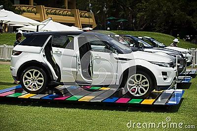 Land Rover - Range Rover Evoque Editorial Stock Photo