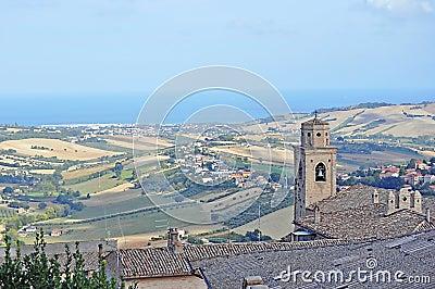 Landascape in Marche