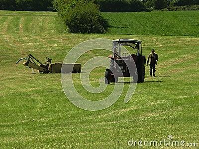 Landbouwer Redactionele Fotografie