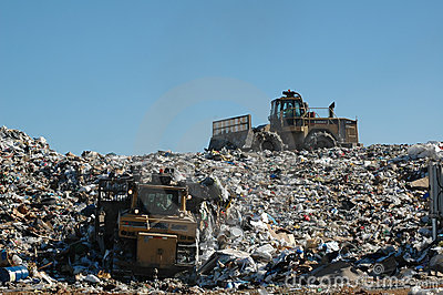 Landfill 2 Editorial Stock Image