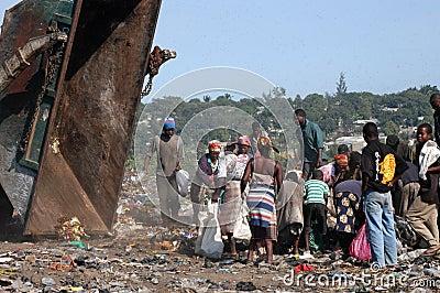 Landfills Editorial Stock Image