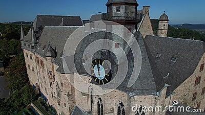 Landgrafenschloss salente Marburgo archivi video