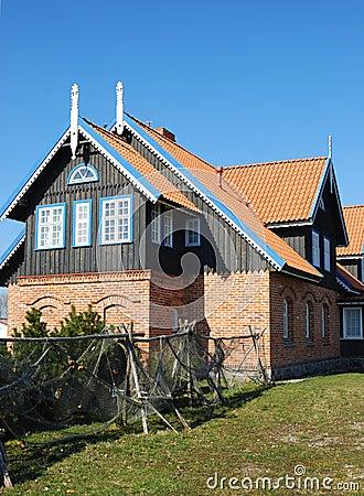 Ländliches Haus