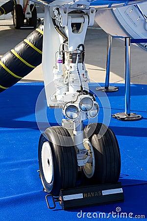 Landing Gear Editorial Stock Image