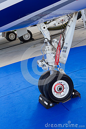 Landing Gear Editorial Photography