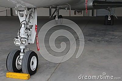 Landing gear of aircraft