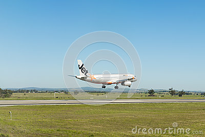 Landing plane Editorial Image