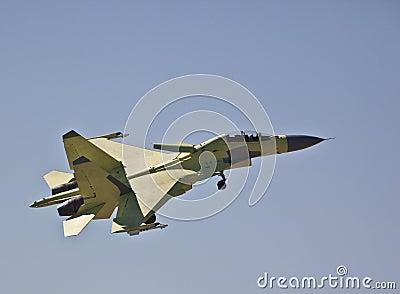 Landing Su-30MKI