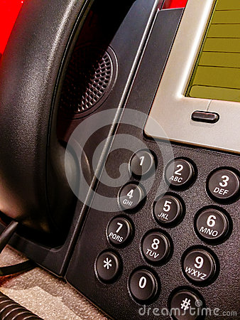 Free Landline Number Pad Stock Photos - 35060573