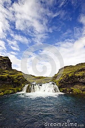 Landmannalaugar Waterfall